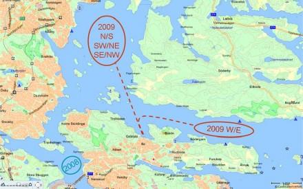 Banområden, karta från eniro.se