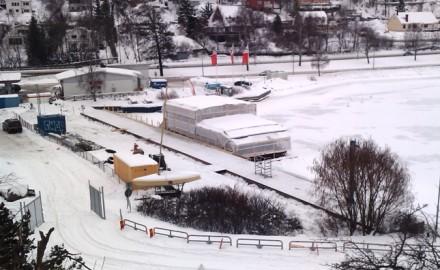 Islinge i februari 2010, foto wm
