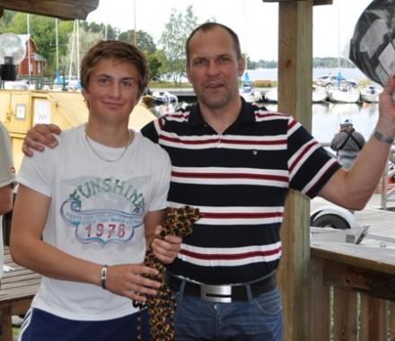 Pontus och Jan 4a 606, foto Mats Båvegård