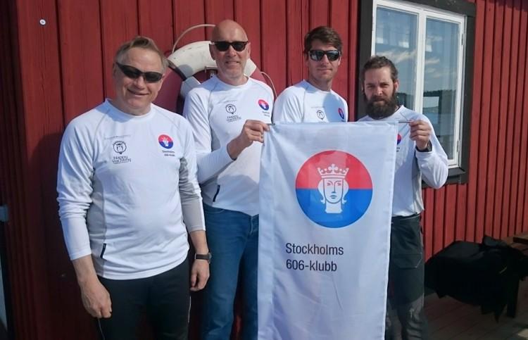 Laget idag: Peter Pohl, Gunnar Alaeus, Richard Larsson och Johan Wallinder. Resten av helgen ersätter Lotta Dahl Boethius Richard Larsson.